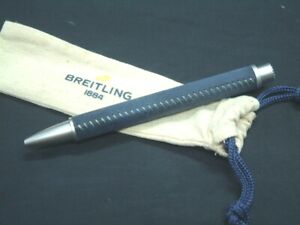 Breitling leather-wrapped ballpoint pen 2021 unused not for sale