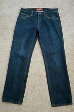   Mens Jeans size 32 x 30 ARIZONA Slim Straight, blue cotton denim male
