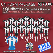 Uniform Arza Universidad AR-3 Short Sleeve for Soccer. Package $ 279.00