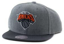 New York Knicks Cap - Mitchell & Ness NY NBA Hat - Mitchell And Ness In Grey