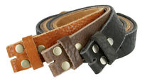 *Handcrafted, Custom Made in USA* Full Grain Genuine Leather Belt Strap, 1-1/2""