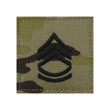 US Army OCP/Multicam Rank 2x2 With Hook Fastener - E7 Staff First Class (SFC)