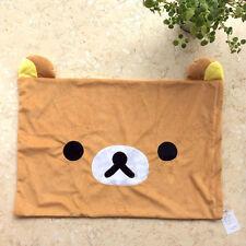 Rilakkuma Relax Bear San-X Cute Plush Brown Pillow Case 63cm*43cm gift handmade