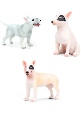 Bull Terrier Figure Pig-Dog Pet Dog Animal Model Collector Decor Kids Toy Gifts