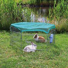 Trixie Freilaufgehege mit Netz für Kleintiere 6 Elemente à 63 × 60 cm
