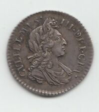 More details for 1699 silver threepence 3d william iii great britain.