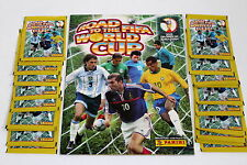PANINI road to FIFA World Cup 2002-album + 20 cartocci packets sobres
