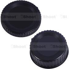 Tappo Copertura Corpo Camera + Coperchio Retro Copri Obiettivo Lente per Nikon