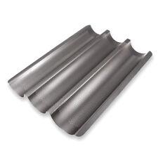 Schramm® Baquette-Backblech Antihaftbeschichtung Baguetteblech Baguettebackblech