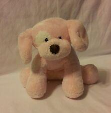 Baby Gund Spunky Puppy Dog Pink Plush Spot Stuffed Toy