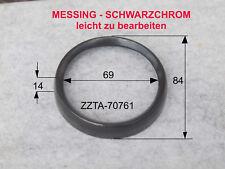 """Schwarzring  Messing  Tacho VDO, """"Wasseruhr"""" Hercules, Kreidler, Zündapp u.a"""