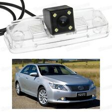 4 LED Car Rear View Camera Reverse Backup Parking for Toyota Aurion 2012-2014