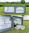 Baby Playpen Kids Safety Play Center Yard Home Indoor Outdoor Pen Fence Portable