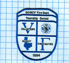 Fire Patch - QUINCY Fire Dept.Township Owned  Volunteer Firefighter