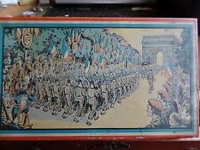More details for ww2 french military arch du triumph fausta caramels tin by bethune & bouchain