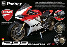 Pocher 1/4 Ducati Panigale 1299 Anniversario kit HK110 | early July US shipping