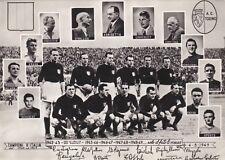 Sport: 4-5-1949 il Calcio in lutto per il grande Torino (foto)