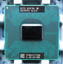 Intel® Core™2 Processor t9500 (6M Cache, 2.6 GHz, 800 MHz FSB)  CPU laptop etc