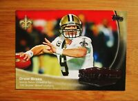 DREW BREES Leads New Orleans to 1st Victory Super Bowl XLIV Topps Card