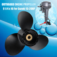 15-20HP  9 1/4 x 10 Size Engine Propeller For Marine Boat Suzuki Outboard