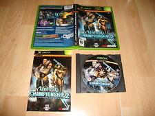UNREAL CHAMPIONSHIP 2 THE LIANDRI CONFLICT PARA LA PRIMERA XBOX USADO COMPLETO