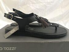Marco Tozzi Premio Women s 28142 Sandals Black Leather UK 3.5   EU 36 RRP  £45 1baf6cef8f