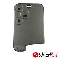 Renault 3 Tasten Schlüsselkarte Gehäuse Laguna 2 Espace 4 Autoschlüssel Key Card