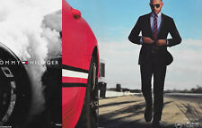 2 page Lewis Hamilton Tommy Hilfiger Ad/Clipping