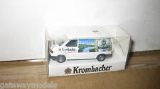 1/87 HO TRAIN SCALE WIKING VW VOLKSWAGEN TRANSPORTER VAN  KROMBACHER  BOXED