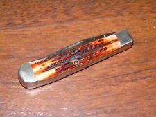 VINTAGE CASE POCKET KNIFE #6254 TRAPPER PROMO ADVERTISING ANTIQUE BONE 2 BLADE