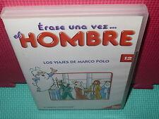 ERASE UNA VEZ EL HOMBRE - N.12 - LOS VIAJES DE MARCO POLO -  dvd