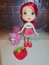 STRAWBERRY SHORTCAKE BERRY PRETTY 10 INCH POSEABLE DOLL CLOTHES FiGuRe KITTY LOT