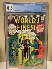 World's Finest Comics #156 CGC 4.5, 1st Appearance Bizarro Batman!