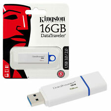 KINGSTON DATATRAVELER G4 16GB USB 3.0 FLASH DRIVE DTIG4 / 16GB