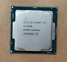 Intel Core i3-8100 SR3N5 CPU Processor 3.6GHz Quad-Core LGA1151 Socket 6MB
