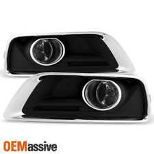 2013 2014 2015 Chevy Malibu Bumper Clear Fog Lights Lamps w/Switch+Bulbs+Cover