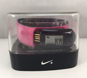 Nike+ Sportband Pedometer W/ Sensor Activity Tracker Fireberry/Black WM0057 600