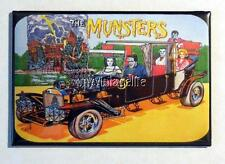 "Vintage THE MUNSTERS Lunchbox 2"" x 3"" Fridge MAGNET art"