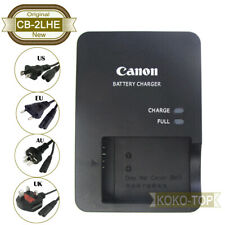 Genuine Canon CB-2LHE Charger for G7XII G5X G1XIII G9X SX620 SX720 SX740 NB-13L