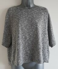 Size 10 Top NEW LOOK Grey Casual Loose Fit Excellent Condition Women's