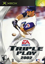 NEW Triple Play 2002 Xbox Brand New Sealed in Box Game Only