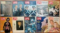 Lot of 20 1968 LIFE Mags Pope Nixon George Wallace Apollo