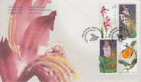 CANADA #1787-1790 46¢ CANADIAN ORCHIDS FIRST DAY COVER - A