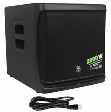 "New Mackie DLM12S 2000W 12"" Powered Active Live Sound DJ PA Subwoofer Sub"
