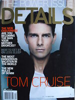 TOM CRUISE December 2008 DETAILS Magazine