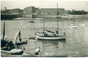 RP ALDERNEY Brave Harbour MILITARY FORTIFICATIONS Sail Boats CHANNEL ISLANDS