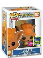 Funko Pop Vinyl Pokemon Vulpix Flocked #580 SDCC 2020
