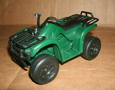 1/18 Scale Four Wheeler Plastic Atv Model - Quad Bike Green Off Road 4x4 Replica