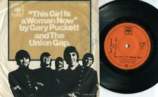 """Gary Puckett & The Union This Girl Is A Woman Now Gap CBS Singapore 7"""" EP EEP769"""