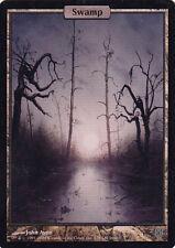 1x Basic Swamp - Foil - Unhinged - English MTG Magic The Gathering